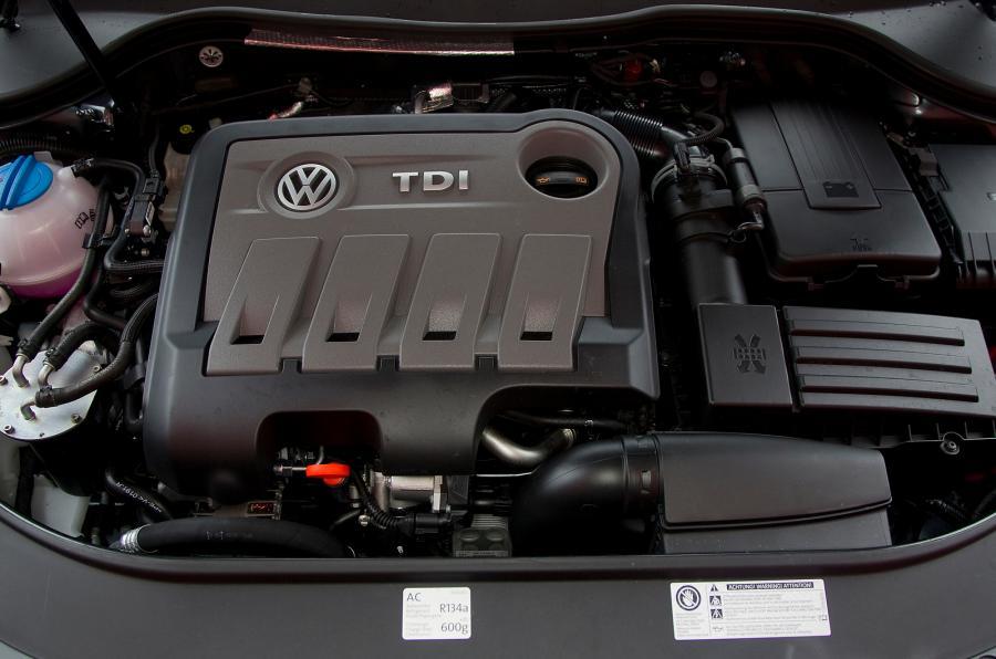 2011 VW Passat variklis