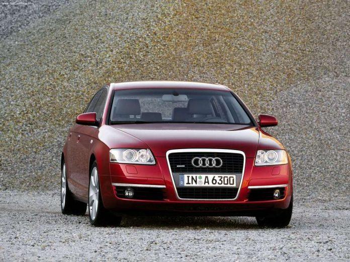 Audi A6 C6 priekis
