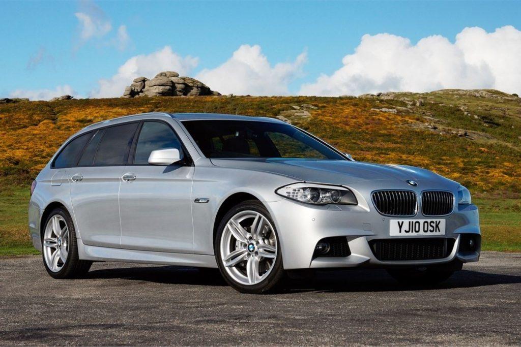 sidabrinis BMW F11