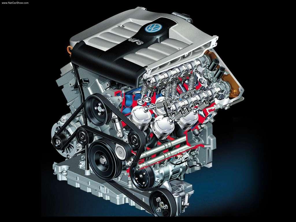 Volkswagen Passat W8 variklis