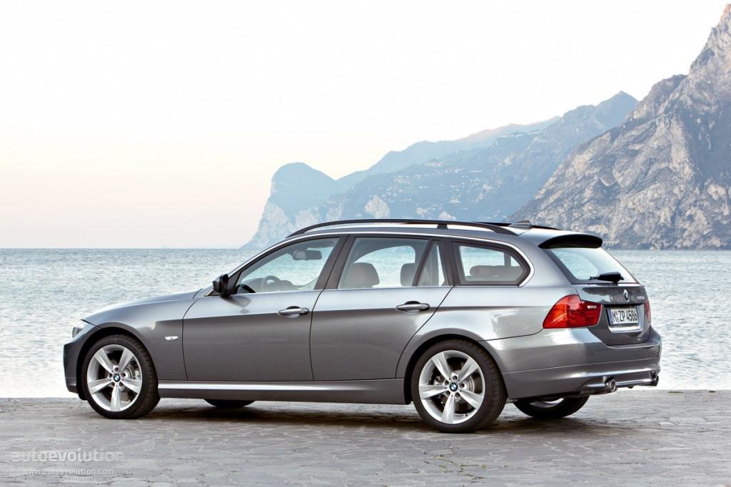 Pilkas BMW E91 Facelift