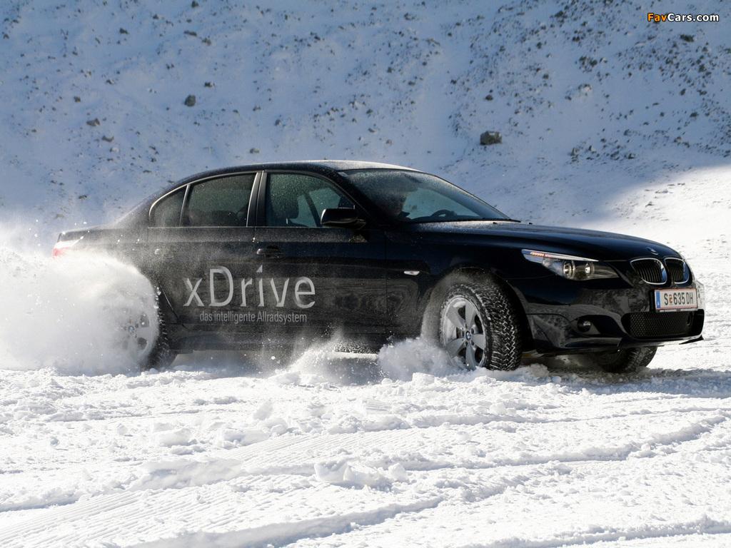 2007 metų 5 serijos BMW xDrive