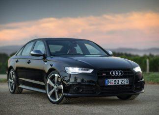 Juoda Audi A6 C7 2015