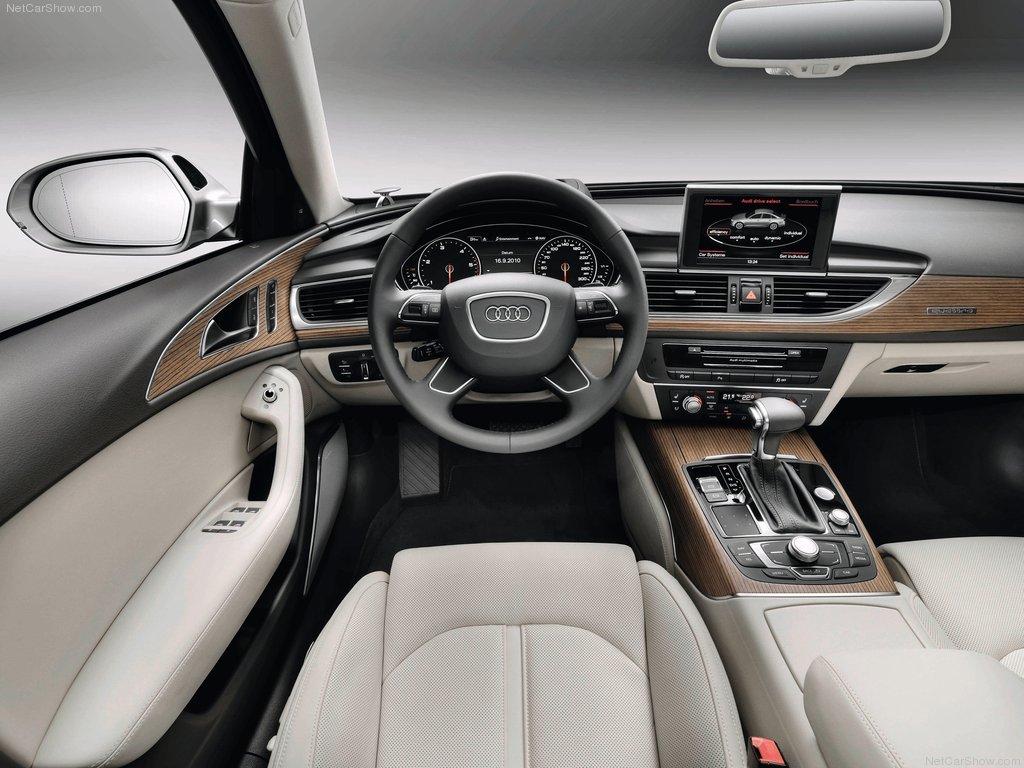 2012 metų Audi A6 C7 salonas
