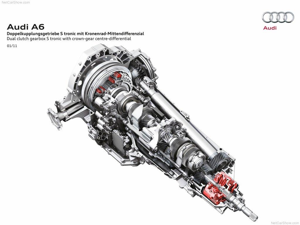 Audi A6 2012 S-Tronic 7 pavarų dėžė