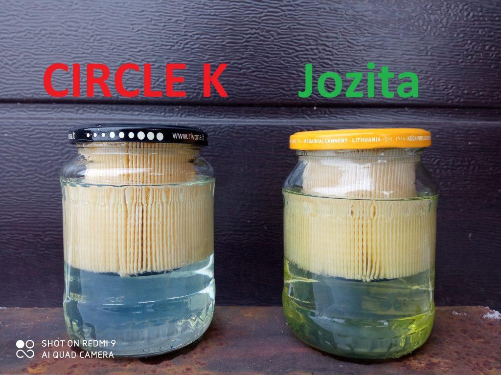 Circle K ir Jozita dyzelinas